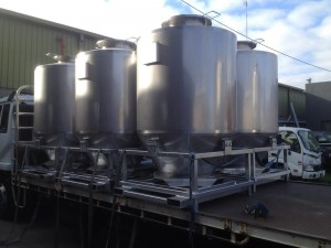 Stainless Steel Transport Tanks, by Tait Stainless.