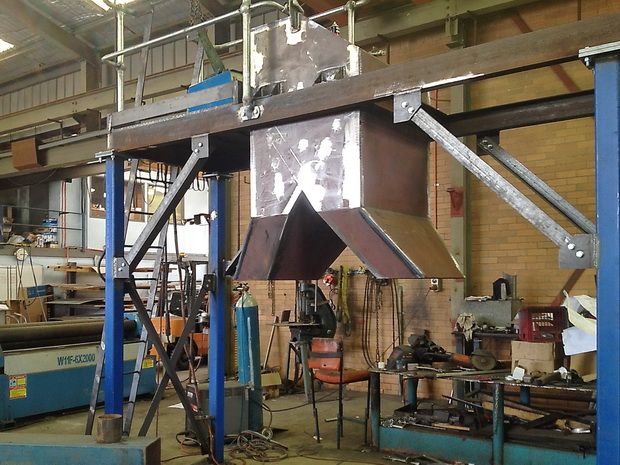 Bag Chute, built by Tait Stainless
