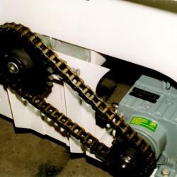 Motor chain drive