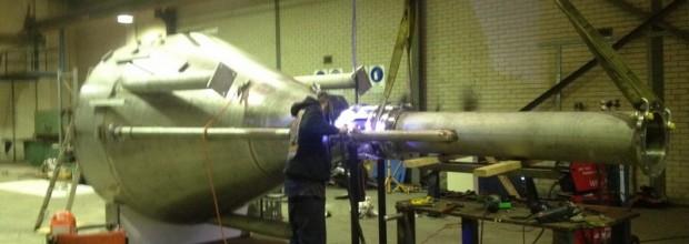 Large Stainless Steel Hopper